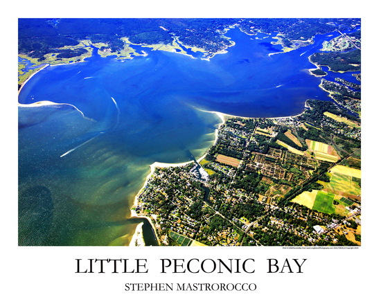 Little Peconic Bay Print 2998