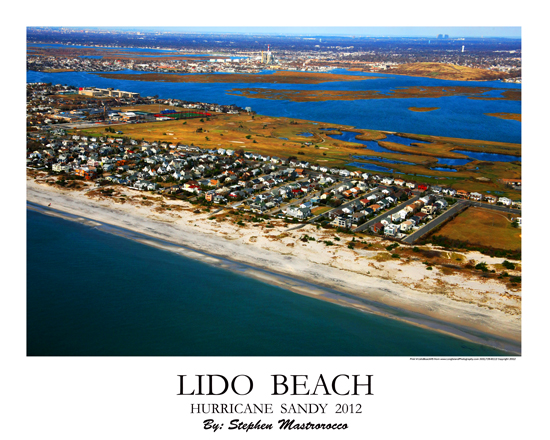 Lido Beach Hurricane Sandy 2017 Print 7137